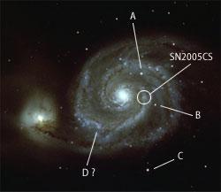 M51(NGC 5194-5195)