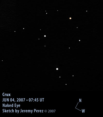 how to see the southern cross
