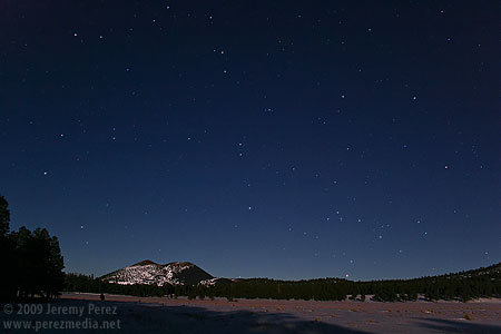 Scorpius rises at Sunset Crater National Monument