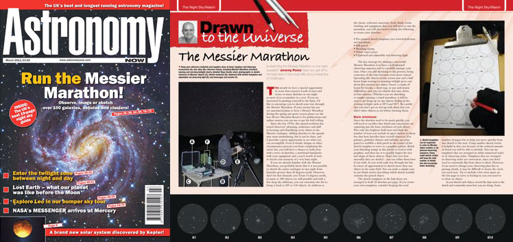 March 2011 Astronomy Now thumbnail