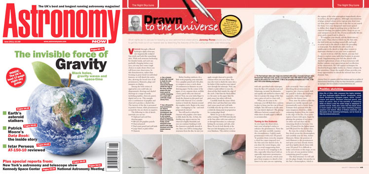 June 2011 Astronomy Now thumbnail