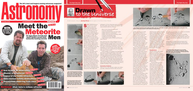 July 2011 Astronomy Now thumbnail