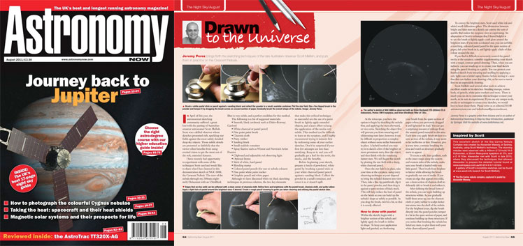 August 2011 Astronomy Now thumbnail