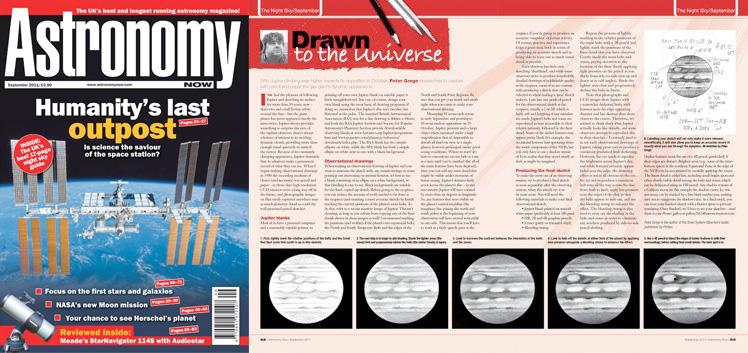 September 2011 Astronomy Now thumbnail