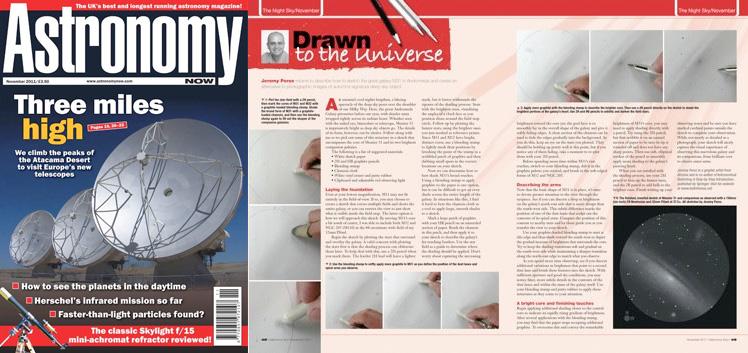 November 2011 Astronomy Now thumbnail