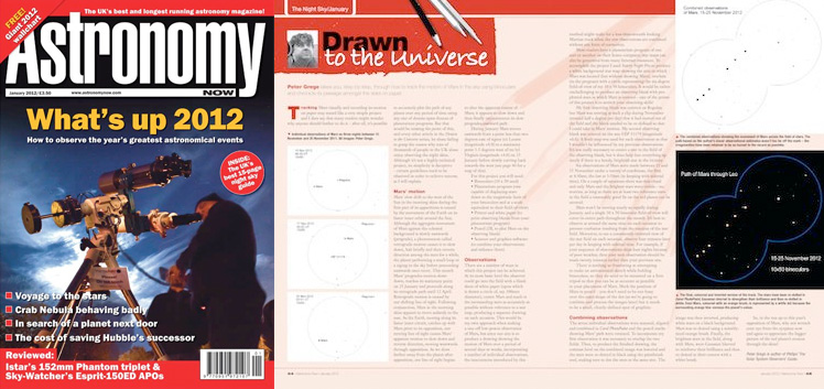 January 2012 Astronomy Now thumbnail