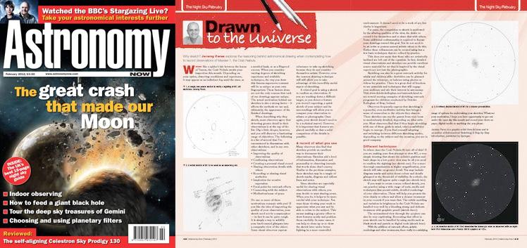 Februrary 2012 Astronomy Now thumbnail