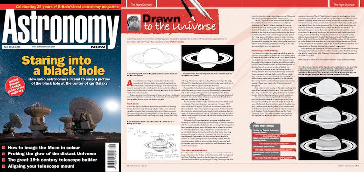 April 2012 Astronomy Now thumbnail
