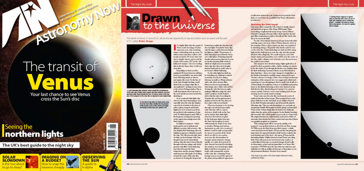 June 2012 Astronomy Now thumbnail