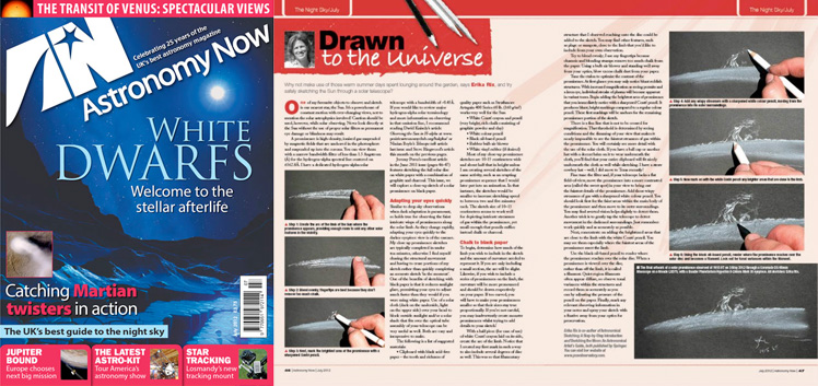 July 2012 Astronomy Now thumbnail