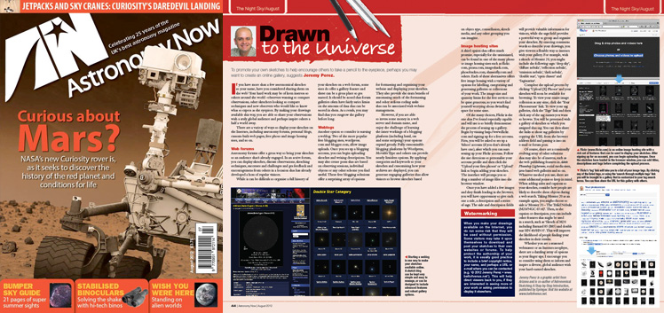 August 2012 Astronomy Now thumbnail