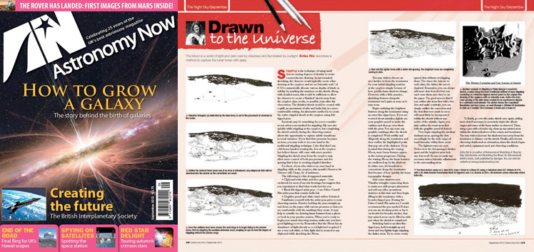 September 2012 Astronomy Now thumbnail