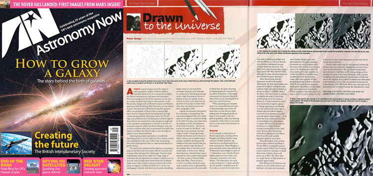 October 2012 Astronomy Now thumbnail
