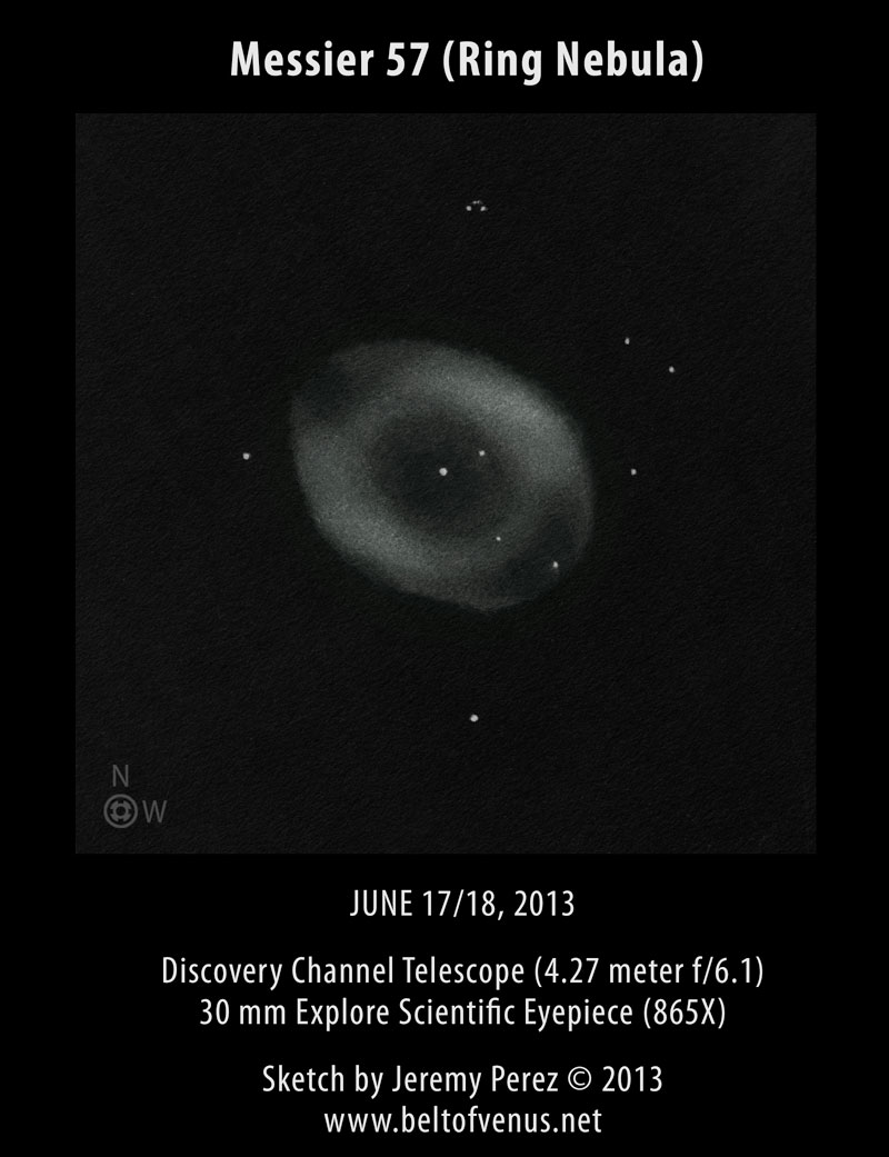 sketch ring nebula - photo #17