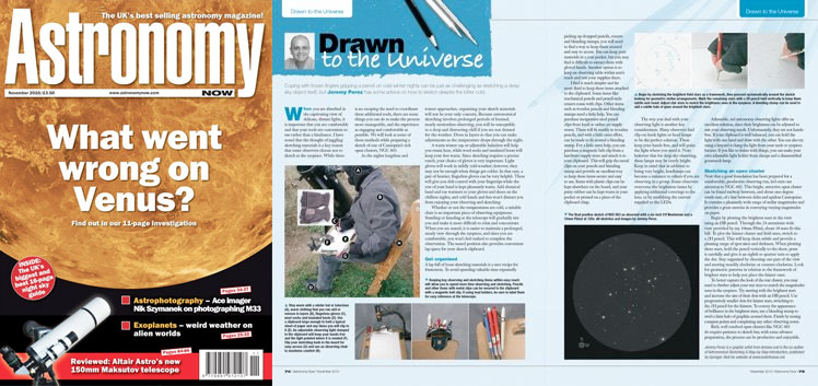 November 2010 Astronomy Now thumbnail