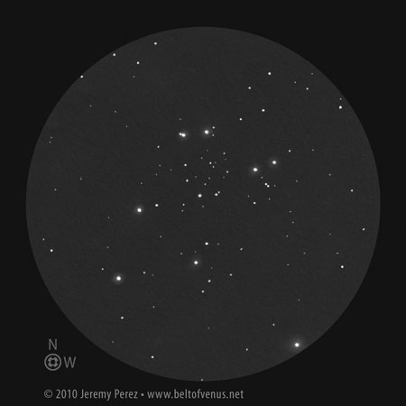 Positive Sketch of NGC 663