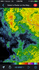 Reflectivity radar of possible bookend vortex southeast of Flagstaff. 5:06 PM / 0006Z