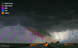 Newkirk, Oklahoma Supercell - May 19, 2013 - Diagrammed