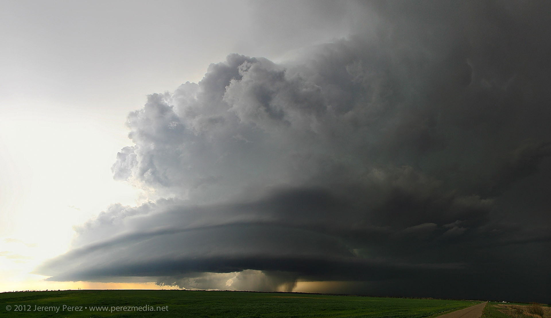 supercell and tornadoes - southwest oklahoma